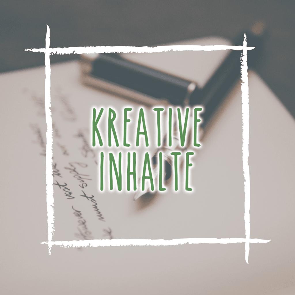 Kreative Inhalte