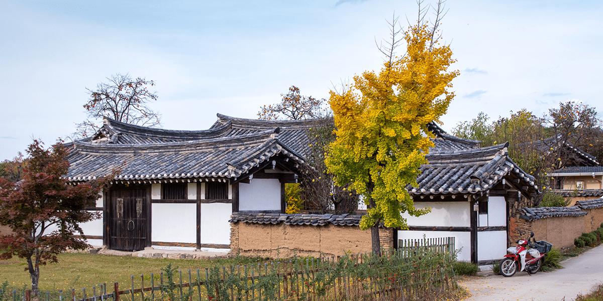 Andong Hahoe Folk Village Südkorea