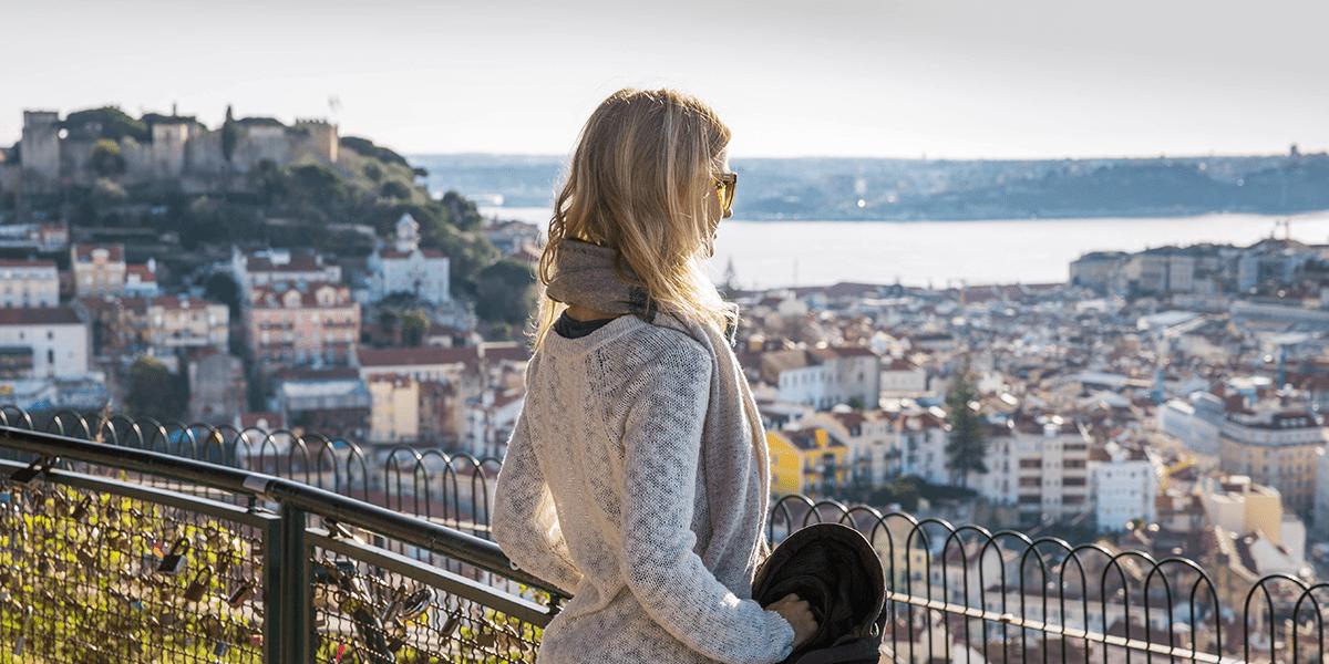Aussichtspunkt Lissabon