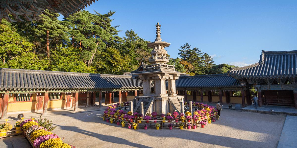 Bulguksa Tempel Südkroea
