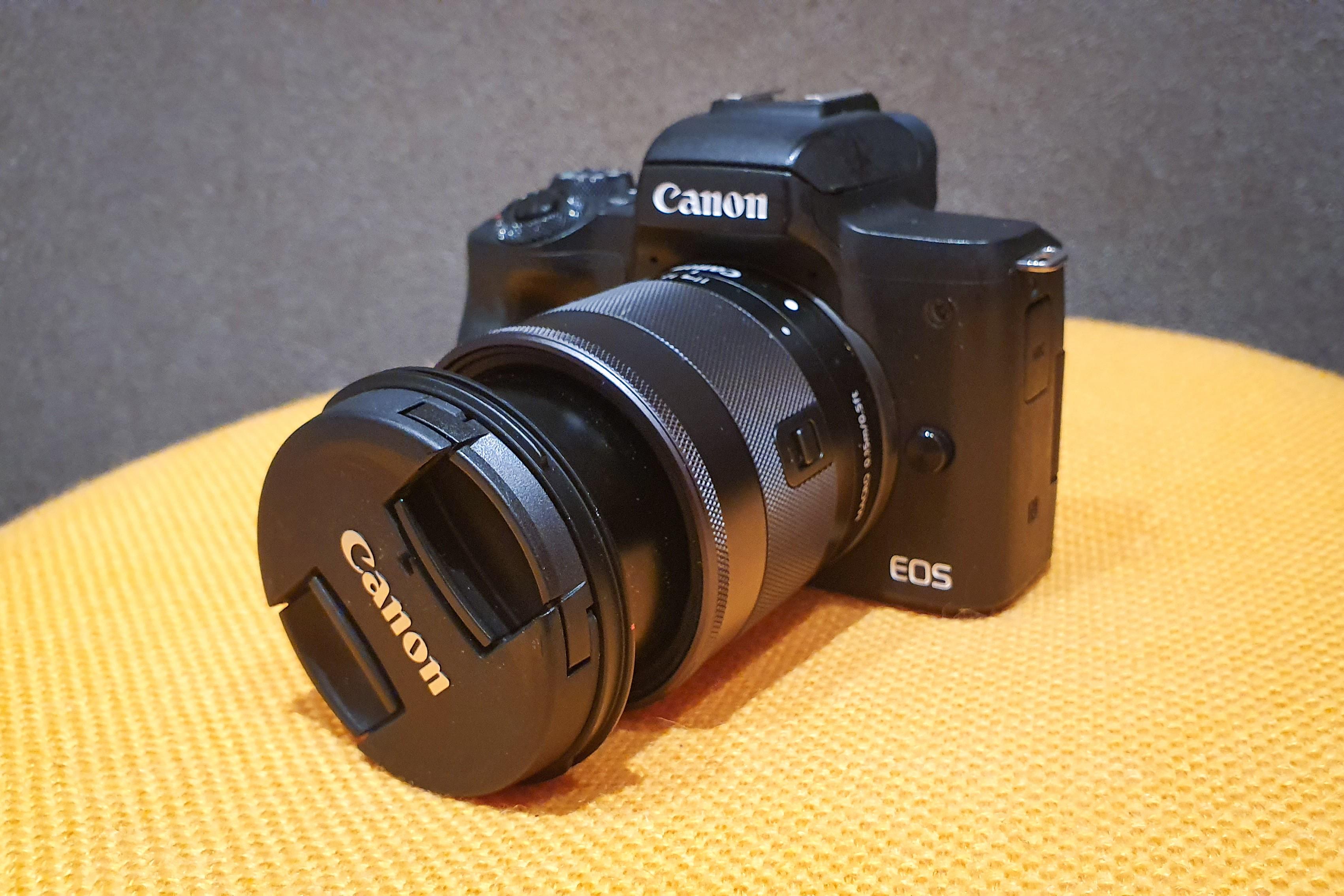 Canon Eos M50 Front Ansicht