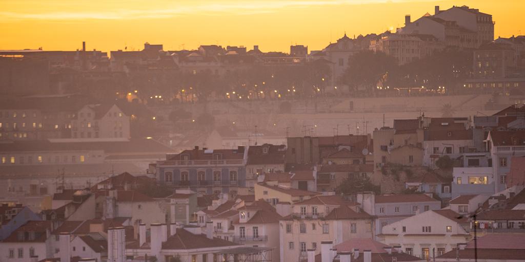Miradouro da Gracia Lissabon