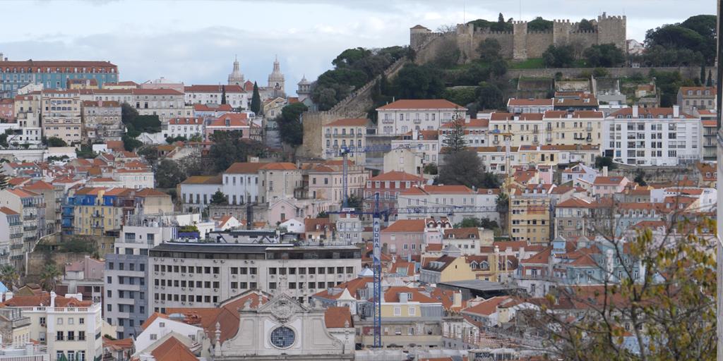 Sao Pedro de Alcantara Aussichtspunkt Lissabon