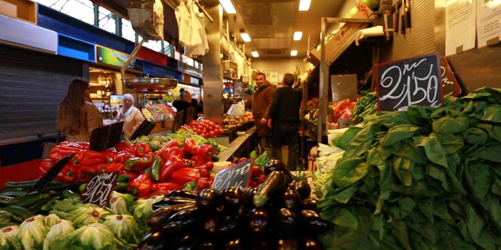 Malaga Markthalle Gemüse