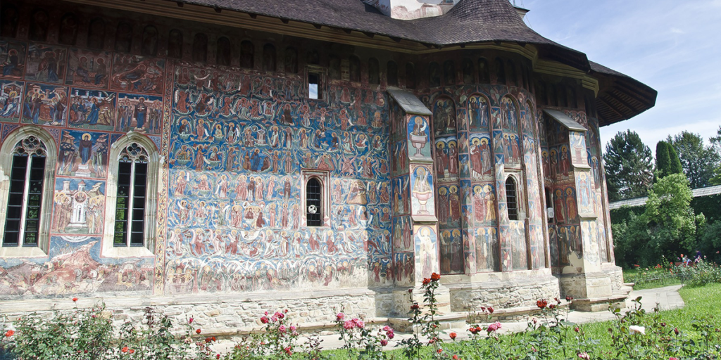 Moldovita Kloster Rumänien