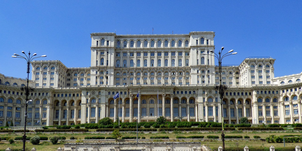 Parlamentsgebäude Bukarest Rumänien